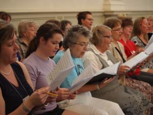 Choral Rehearsal 2013