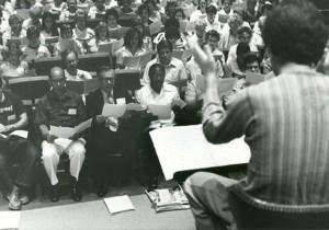 1978 John Nelson Conducting Rehearsal