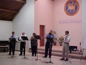 Downey Moravian brass ensemble