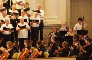 chorus w orchestra